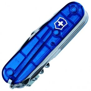 Victorinox SwissChamp (33) 1.6795.T2 transparent blue