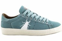 Trampki Fly London BERG 823 Blue Baby Suede