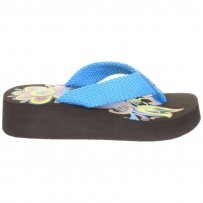 Klapki Fly London BUMPER BLUE