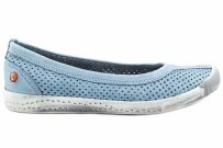 Balerinki Softinos IOL389SOF Pastel Blue Washed