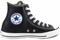 Trampki Converse CHUCK TAYLOR A/S HI Black 1S581 skórzane
