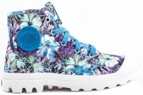 Buty Palladium PAMPA HI Mosaic Blue Hawaii Print 92352435