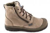 Trapery Palladium PAMPA HI LEA GUSSET Dust Chocolate 52744206