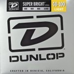 Struny do basu DUNLOP Super Bright 40-100