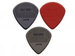 Kostki DUNLOP Jazz III Max Grip Nylon Red