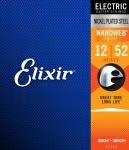 Struny ELIXIR NanoWeb (12-52)