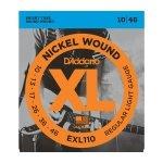 Struny D'ADDARIO Nickel Wound EXL110 (10-46)