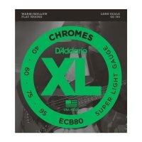 Struny D'ADDARIO Chromes ECB80 (40-95)