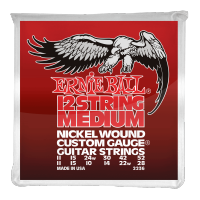 Struny ERNIE BALL 2236 Nickel Wound (11-52) 12str.