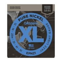 Struny D'ADDARIO XL Pure Nickel EPN21 (12-51)