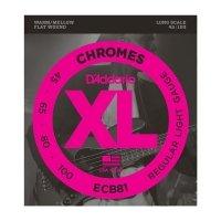 Struny D'ADDARIO Chromes ECB81 (45-100)