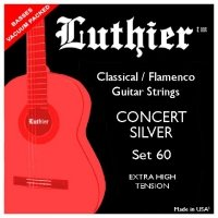 Struny LUTHIER 60 Concert Silver Extra High