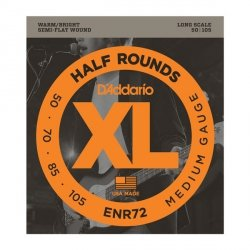 Struny D'ADDARIO Half Rounds ENR72 (50-105)