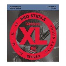 Struny D'ADDARIO ProSteels EPS230 (50-110)
