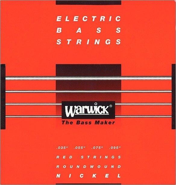 Struny WARWICK 46230 (35-95) Nickel Plated Steel