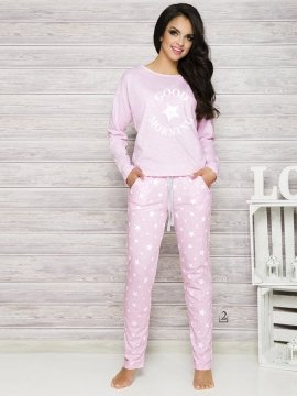 Piżama Nadia 1190 K2 Różowa