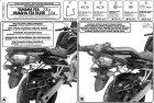 Kappa TK351 Stelaż sakw Yamaha Fz 6- Fz 600 Fazer (04-08)