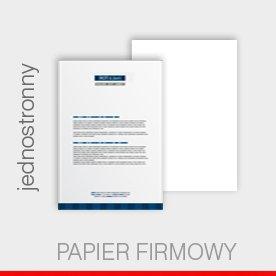 papier firmowy A4, jednostronny, 90 g preprint
