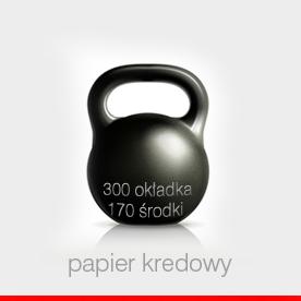 KATALOGI - okładka 300 g foliowana, środki 170 g