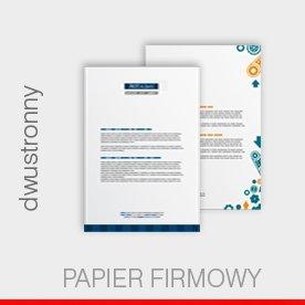 papier firmowy A4, dwustronny, 90 g preprint