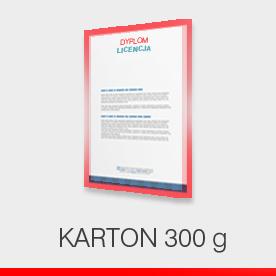 Dyplomy - karton 300 g