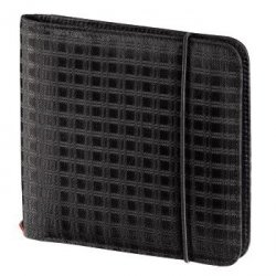 Cd wallet slim gumka 24, czarny