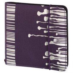 Hama cd wallet slim gumka 24 fiolet 956670000