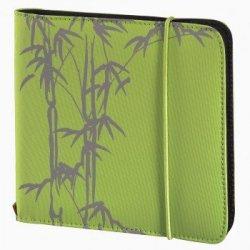 Hama cd wallet slim gumka 24 zielony 956680000
