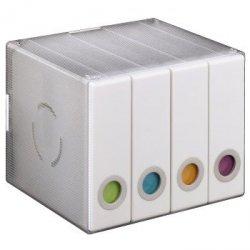 Album box 96cd tansp/whi+ gratis