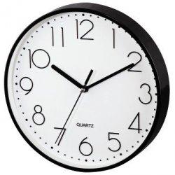 Czarno-biały zegar ścienny pg-220