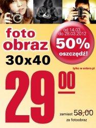 Crazyfoto.pl fotoobraz 30x40 50% taniej fotbz 50%