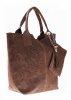 f661c0f4ecdb4 Włoskie Torebki skórzane typu Shopper bag Ziemia .