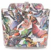 Kabelka listonoška na každý den Vittoria Gotti Multicolor Bílá
