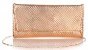Elegantní Dámská kabelka psaníčka Belluci Champagne