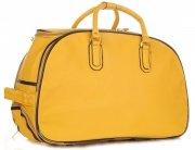 Cestovní taška na kolečkách s výsuvnou rukojetí Or&Mi Žlutá
