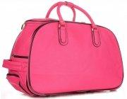 Cestovní taška na kolečkách s výsuvnou rukojetí Or&Mi růžová
