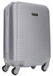 Palubní kufřík Or&Mi 4 kolečka stříbrná