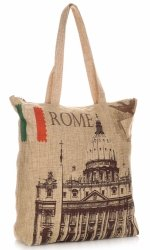 Torebka Damska Shopper Multikolor Rome