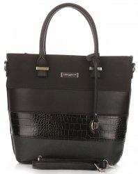 Kufříky Dámská kabelka David Jones Černá