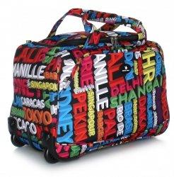 Cestovní taška na kolečkách s teleskopickou rukojetí renomované firmy Davi jones