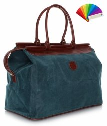 Solidna torba podróżna David jones Turkusowa