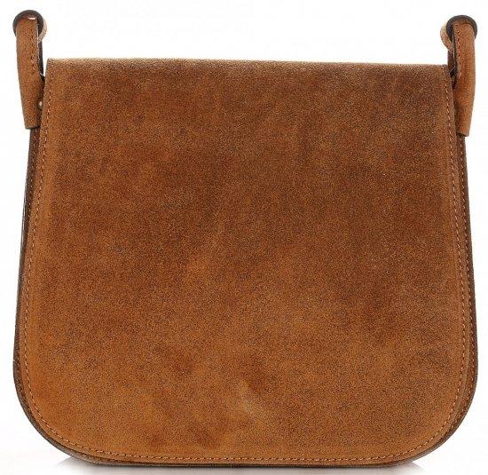 Listonoszka Skórzana Genuine Leather Ruda