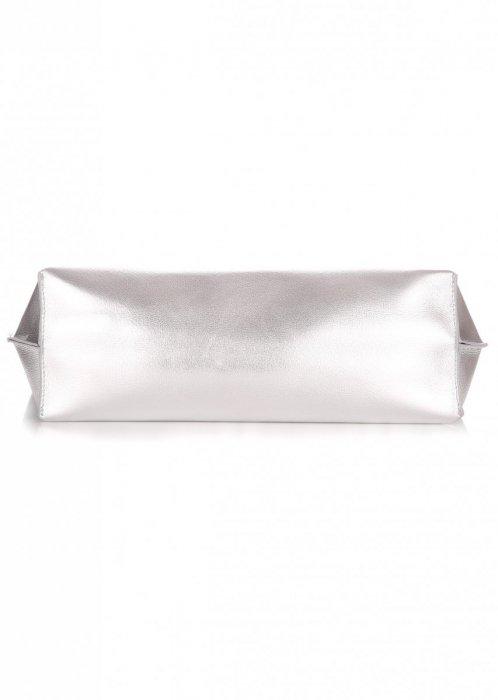 Modna Torba Damska David Jones Typu Shopper Bag XL z Etui Granat