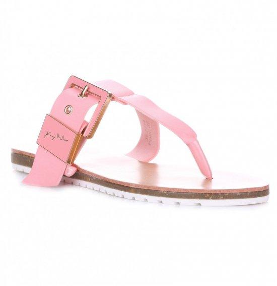 Sandały Damskie Różowe