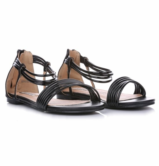 Sandały Damskie Czarne