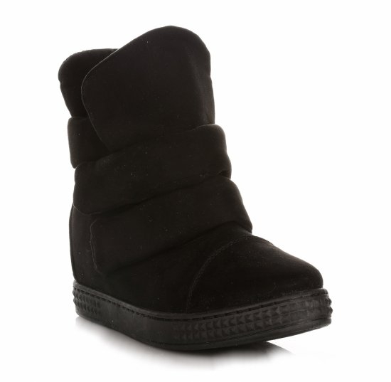 Sneakersy Damskie Czarne