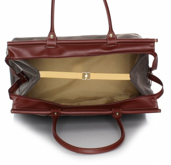 Solidna torba podróżna David jones Ziemista