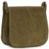 Listonoszka Skórzana Genuine Leather Zielona