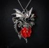Naszyjnik gotycki - smocza róża