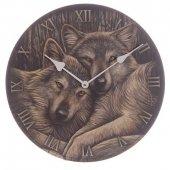 Zegar z Wilkami